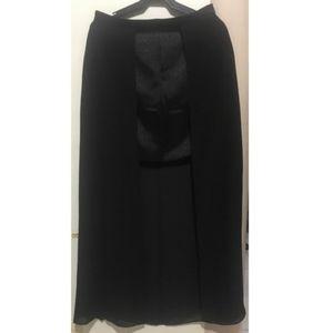 Forever 21 Open Front Mini-Long Skirt
